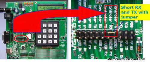 PIC microcontroller serial communication tutorial
